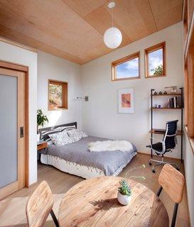 Dormitor casa mica prefabricate