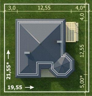 Dimensiuni teren pentru casa fara etaj cu 3 camere