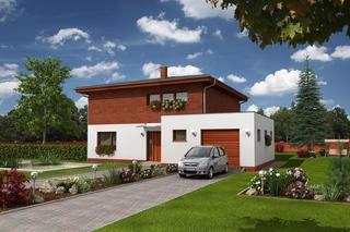 Casa pasiva cu etaj si garaj