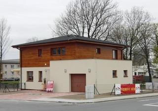 Executie casa pasiva cu etaj si garaj