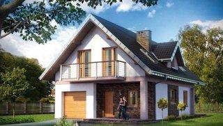 Casa cu 4 dormitoare la mansarda