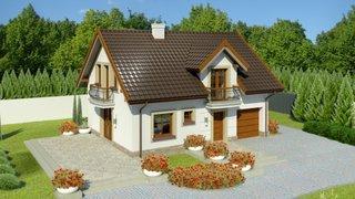 Casa cu 3 dormitoare si mansarda