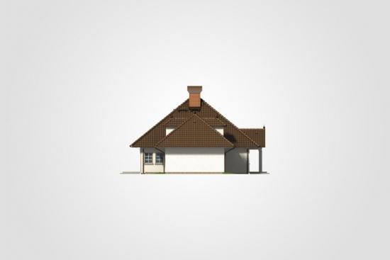 Casa cu garaj dublu