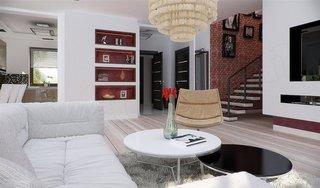 Living minimalist casa