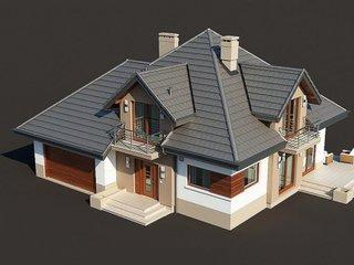 Proiect casa cu 5 camere