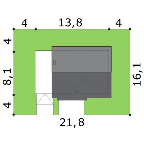 Dimensiuni casa cu 5 camere