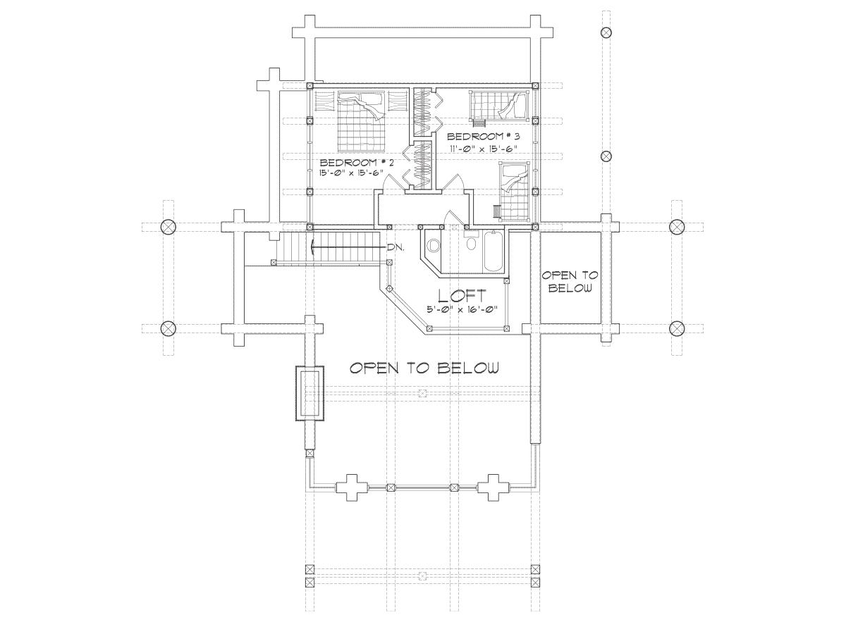 Cabana cu 2 dormitoare