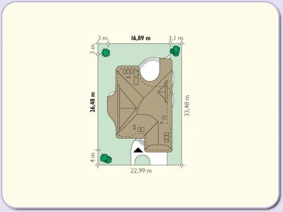 Dimensiuni necesare teren constructie casa 300 mp