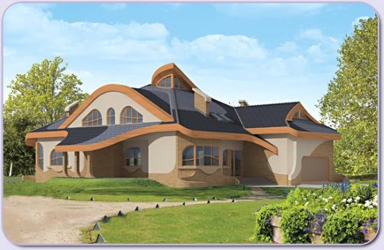Proiect casa cu suprafata 300 mp