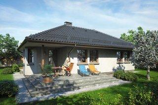 Casa doar cu parter si terasa in spate
