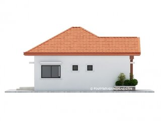 Elevatie casa laterala