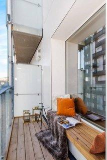 Balcon cu amenajare moderna