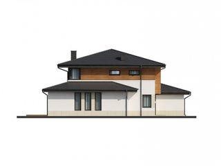 Proiect de casa cu camera tehnica