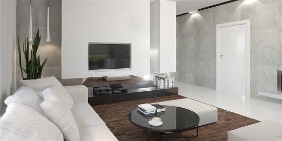 interior gri modern