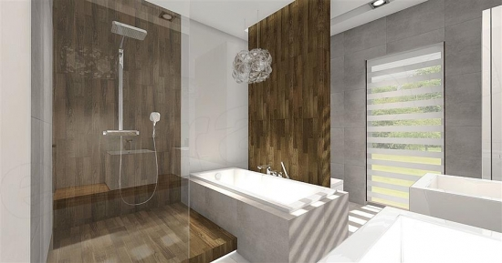 Baie decor modern minimalist