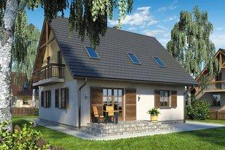 Terasa in prelungirea casei fara acoperis