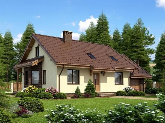 Proiect casa pe un singur nivel