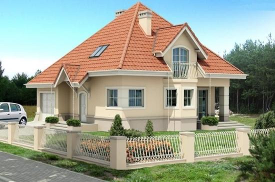 Casa pentru o familie cu 2 copii