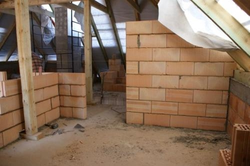 Ziduri interioare din caramida