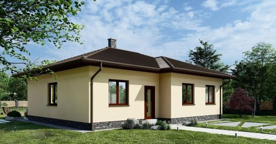 Proiect de casa senzationala perfecta si pentru la oras dar si pentru la tara