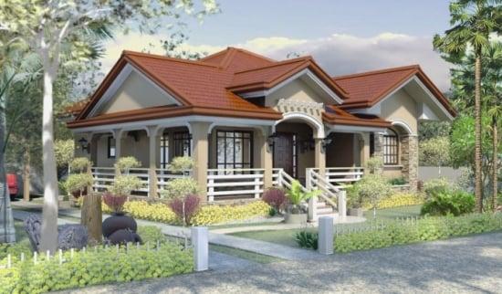 Casa rezidentiala de mici dimensiuni eleganta si accesibila