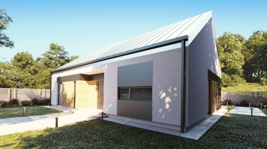 Casa simpla cu terasa si suprafata de 120 mp