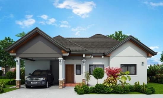 Superb acest proiect de casa spatioasa, cu 3 dormitoare. Le are pe toate! Chiar si o mica terasa ...