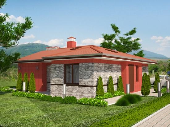 Design exterior casa fara etaj