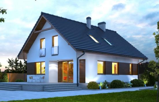 Casa contemporana cu 3 dormitoare