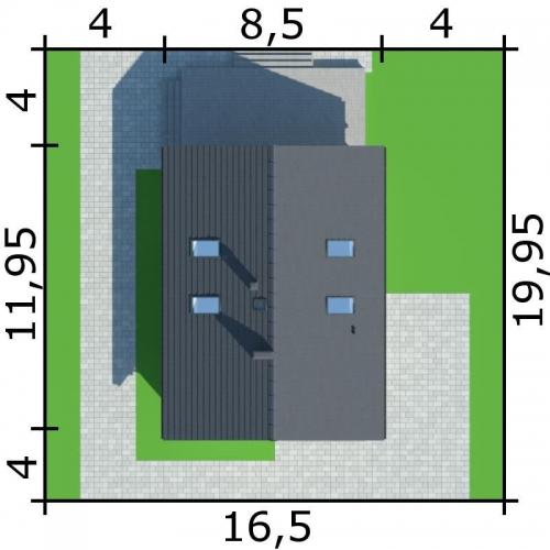 Forman casa cu 3 dormitoare