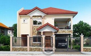 Casa cu 2 livinguri si 4 dormitoare