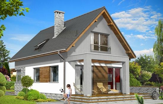 Casa cu balcon si 3 dormitoare la mansada