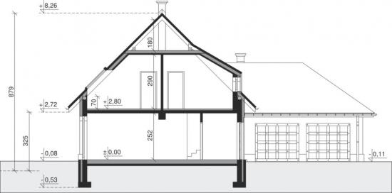 Cote inaltimi proiect casa