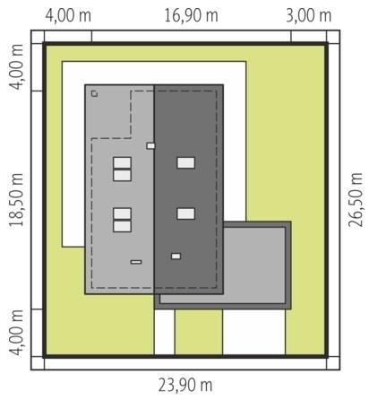 Dimensiuni teren casa cu mezanin