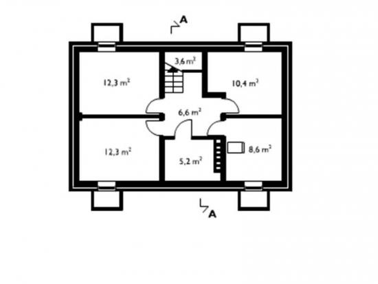 Plan pivnita casa 238 mp