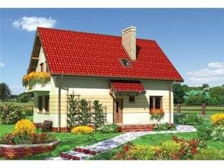Proiect casa de lux cu 5 dormitoare si 2 bai