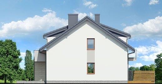 Casa duplex cu 4 camere elevatie laterala