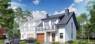 Casa duplex cu 4 camere si garaj