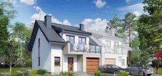 Casa duplex cu 4 camere si garaj vedere stanga