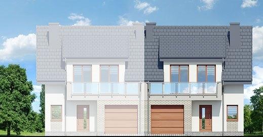 Casa duplex cu 4 camere vedere fata