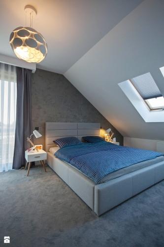 Dormitor matrimonial la mezanin