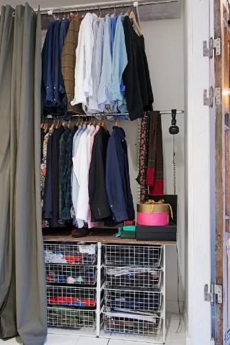 Organizare interior de dressing
