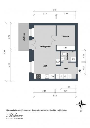 Plan configuratie apartament