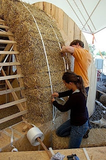 Construire casa din baloti din paie