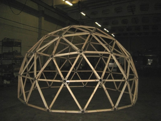 Structura dom geodezic