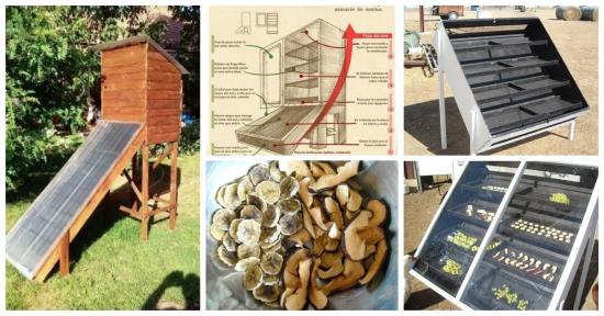 Cum construiesti un deshidrator solar