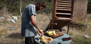 Deshidrator solar de fructe si legume