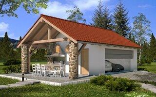 Proiect garaj cu foisor