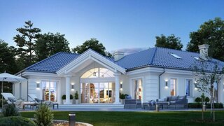 Vila eleganta plan detaliat