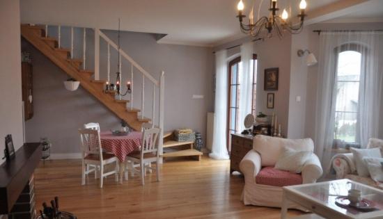 Scara interioara in living - proiect II